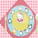 Hello Kitty Servis Tabağı